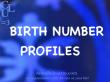 Birth Number 1